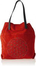 Chicca Borse 8627, Borsa a Spalla Donna, Rosso (Red), 33x39x10 cm (W x H x L)