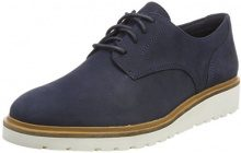 Timberland Ellis Street Lace-up, Scarpe Stringate Oxford Donna, Blu (Dark Total Eclipse Luscious L42), 37 EU