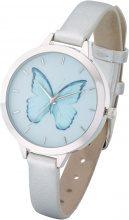 Orologio con farfalla (Argento) - bpc bonprix collection