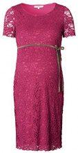 Noppies Dress SS Celia 70340, Vestito maternità Donna, Rosso (Warm Red C083), 42 (Taglia Produttore: S)