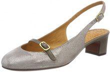 Chie Mihara NELA, Scarpe col Tacco con Cinturino Dietro la Caviglia Donna, Grau (Stella Grey-Arles Grey), 40 EU