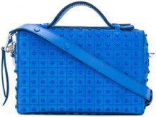 Tod's - Borsa 'Gommino Mini' - women - Calf Suede - OS - BLUE