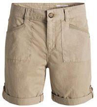 edc by Esprit im Cargo Stil, Shorts Donna, Beige (BEIGE 270), S (Taglia Produttore: 36)