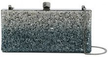 Jimmy Choo - Borsa clutch 'Celeste' - women - Metallized Polyester - OS - BLUE