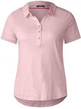 Cecil 312198, T-Shirt Donna, Pink (Soft Blossom 11216), X-Small