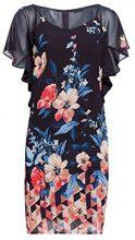 ESPRIT Collection 038eo1e023, Vestito Elegante Donna, Blu (Navy 400), 44 (Taglia Produttore: 38)