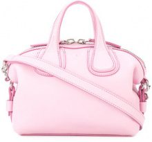 Givenchy - mini Nightingale tote - women - Calf Leather - OS - PINK & PURPLE