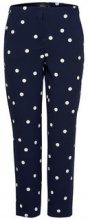 ONLY Printed Trousers Women Blue