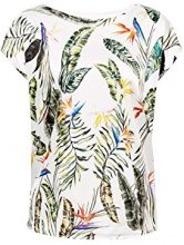 ESPRIT Collection 058eo1k007, T-Shirt Donna, Bianco (off White 110), X-Large