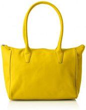 Bree 500330093, Borse a Tracolla Donna, Giallo (Giallo (Yellow)), 42x14x26 cm (B x H x T)