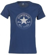 T-shirt Converse  CONVERSE CLEAR FOIL CHUCK PATCH CREW TEE