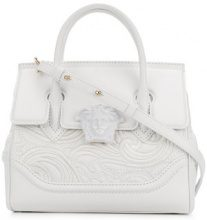 Versace - Borsa tote 'Medusa Empire' - women - Calf Leather - OS - Bianco