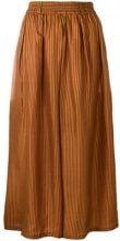 Mes Demoiselles - Pantaloni a righe - women - Silk - 38 - YELLOW & ORANGE