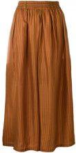 Mes Demoiselles - Pantaloni a righe - women - Silk - 36 - Giallo & arancio