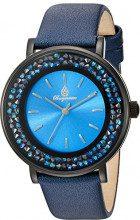 Burgmeister St. Lucia-Orologio da donna al quarzo con Display analogico e cinturino in pelle, 537-633 BM, colore: blu