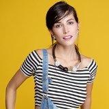eManco - Collana girocollo geometrico vintage per donne, gioielli con ciondolo in legno nero