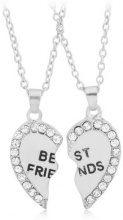 Set collane dell'amicizia Best Friends 2 pz.
