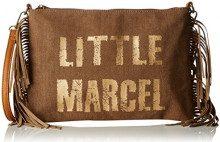 Little Marcel Vi05 - Borse a tracolla Donna, Beige, 5x20x28 cm (W x H L)
