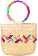 All Things Mochi - Carmela bag - women - Straw - OS - MULTICOLOUR