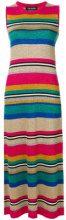 Twin-Set - Vestito a righe - women - Viscose/Polyester - XS - Multicolore