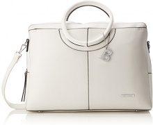 Bulaggi Bazmar Laptop Bag - Borse a secchiello Donna, Weiß, 09x30x41 cm (B x H T)