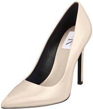 Calvin Klein Jeans Paige Patent Scarpe con Tacco Donna, Beige (Snd 000), 37 EU
