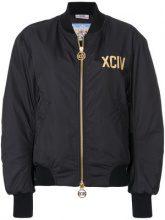 Gcds - Bomber con zip - women - Nylon/Polyester - S, XS, M - BLACK