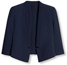 ESPRIT Collection 027eo1g027, Blazer Donna, Blu (Navy), 36