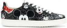 Moa Master Of Arts - Mickey sneakers - women - PVC/Cotone/Leather/rubber - 37, 38, 39, 40 - Nero