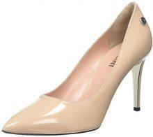 Pollini W.Shoe, Scarpe con Tacco Donna, Beige (Nude 609), 36 EU