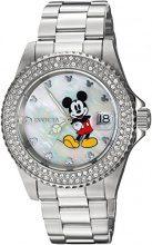 Invicta 24750 Disney Limited Edition - Mickey Mouse Orologio da Donna acciaio inossidabile Quarzo quadrante bianca