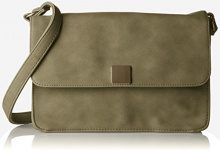 PIECES Pcliede Cross Body Bag - Borse a tracolla Donna, Grün (Deep Lichen Green), 5x12x20 cm (B x H T)