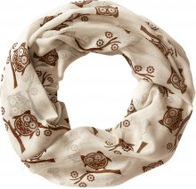 Sciarpina ad anello Gufi (Beige) - bpc bonprix collection
