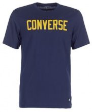 T-shirt Converse  CONVERSE ESSENTIALS SUPIMA COTTON GRAPHIC TEE