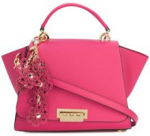 Zac Zac Posen - Eartha Iconic charm backpack - women - Calf Leather - OS - PINK & PURPLE