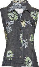 Gilet di jeans fantasia (Grigio) - bpc selection