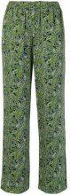 Michael Michael Kors - paisley print trousers - women - Polyester - XS, S, M, L - MULTICOLOUR