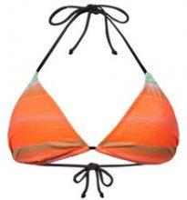Reggiseno per bikini a triangolo a righe
