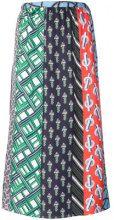 Carven - Gonna midi stampata - women - Silk - 42 - Multicolore