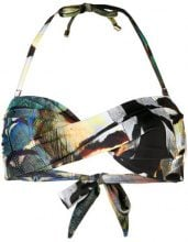 Mona - multi-print bikini - women - Polyester/Spandex/Elastane - M, L - MULTICOLOUR