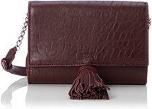 HUGO Teresa-a 10202305 01 - Borse a spalla Donna, Rot (Dark Red), 4.5x13x18 cm (B x H T)