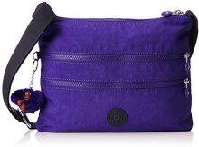 Kipling Alvar - Borse a tracolla Donna, Violett (Summer Purple), 33x26x4.5 cm (B x H T)
