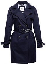edc by Esprit 018cc1g014, Giubbotto Donna, Blu (Navy 400), X-Large
