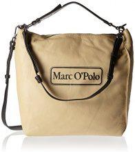 Marc O'Polo Retro One - Borse a spalla Donna, Beige (Cream), 10x37x40 cm (B x H T)
