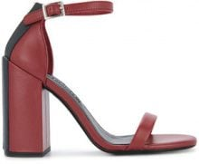 - Senso - Sandali 'Lana' - women - Synthetic Resin/Calf Leather/Pig Leather - 35, 42, 39, 37 - Rosso