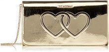 Love Moschino JC4301PP04KL0900, Borse a Tracolla Donna, Oro, 13x26x5 cm