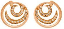 Orphelia–Orecchini da donna 925argento con zirconi bianchi taglio rotondo–zo–7084, argento, colore: Rose-Gold, cod. ZO-7084/1