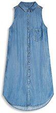 edc by Esprit 057cc1e017, Vestito Donna, Blu (Blue Medium Wash), 34 (Taglia Produttore: X-Small)