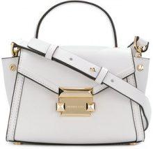 Michael Michael Kors - Whitney mini satchel - women - Leather - One Size - WHITE
