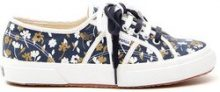 Sneakers basse in lino
